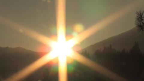Mount Shasta Sunset Timelapse Stock Video Footage