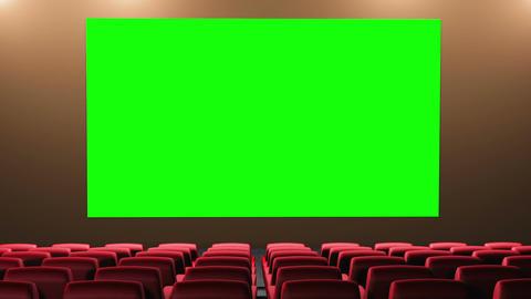 Cinema v3 16 9 01 loop Stock Video Footage