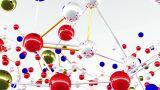 Complex Molecule Structure 01 stock footage