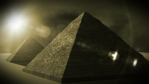 Egyptian Pyramid 03 Stock Video Footage