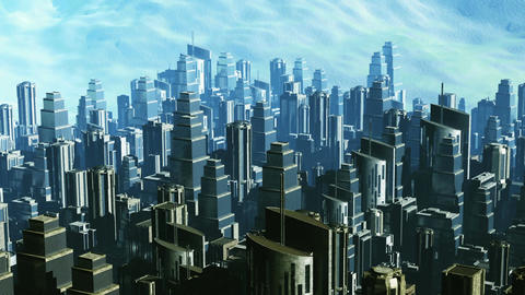 Metropolis 06 Stock Video Footage