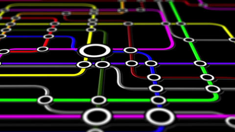 Subway Network People Connections v1 02 Animation
