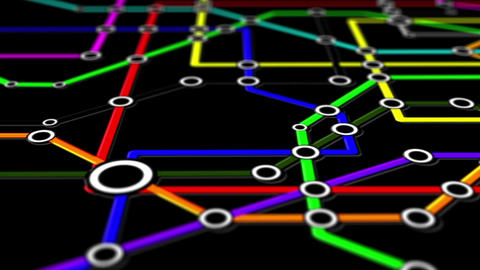 Subway Network People Connections v1 04 Animation