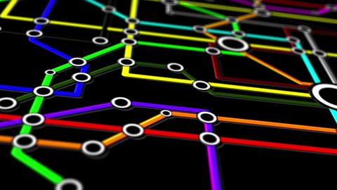 Subway Network People Connections v1 08 Animation
