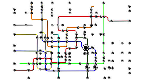 Subway Network People Connections v2 04 Animation