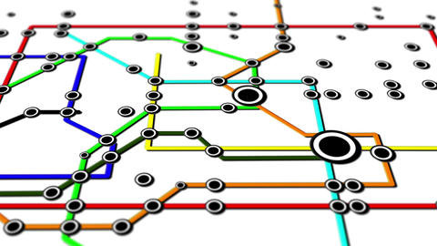 Subway Network People Connections v3 02 Animation