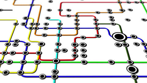 Subway Network People Connections v3 04 Animation