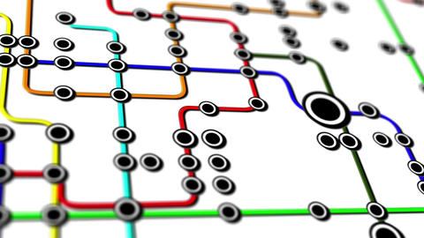 Subway Network People Connections v4 04 Animation
