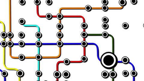 Subway Network People Connections v6 04 Animation