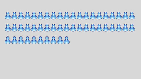 blue msn icons count Animation