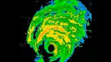 Hurricane Ivan Landfall Time Lapse stock footage