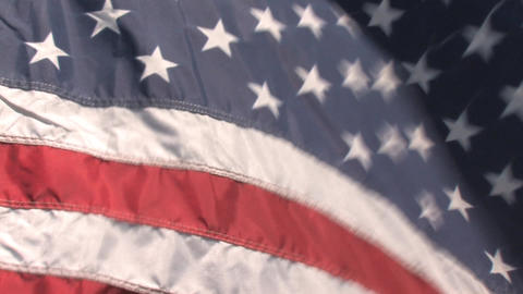 American Flag 1 Stock Video Footage