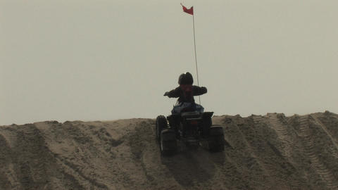ATV's, Quads, Dirt Bikes and Dune Buggies Off Roading Stock Video Footage