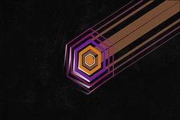 FuturisticDeep Space Logo Reveal stock footage