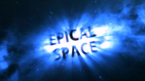 Epical Space After Effects Template