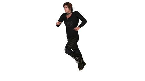 走る男性 Animation