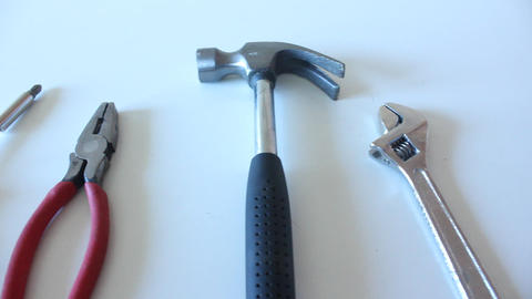 Hand tools, construction, building Footage