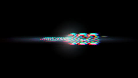 Glitchy Logo After Effects Template