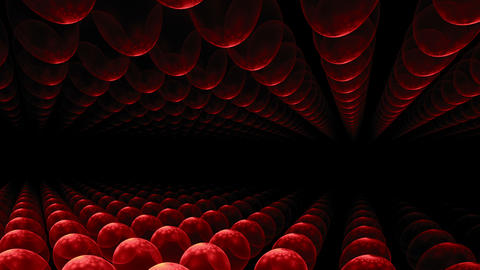red orbs horizon Animation