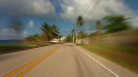 Caribbean Island Road Trip 05 Footage