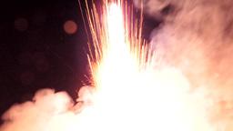 Fireworks starting Footage