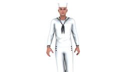 4k 歩く海兵隊員 Animation