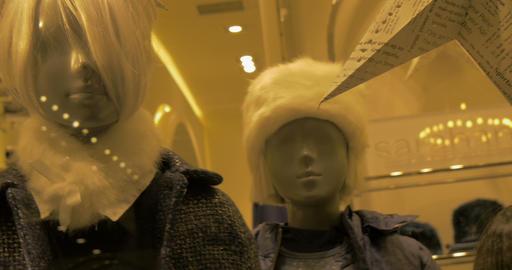 mannequins kid 01 Footage