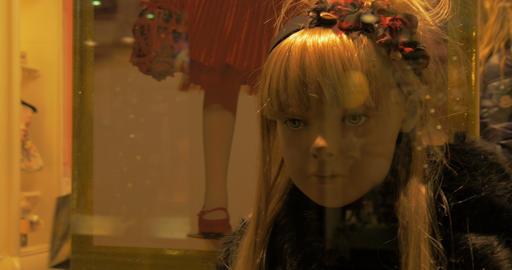mannequins kid 02 Footage