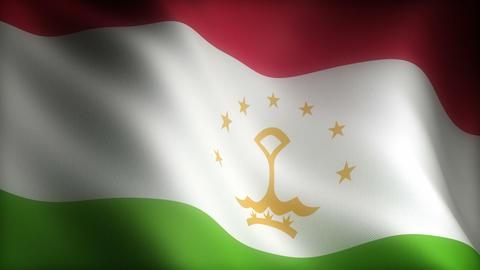 Flag of Tajikistan Animation