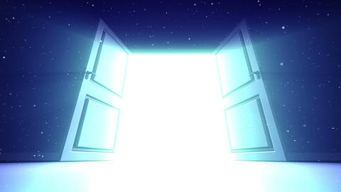 Door to sky Animation