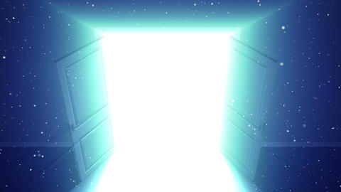 Door opening to Opportunity Animation