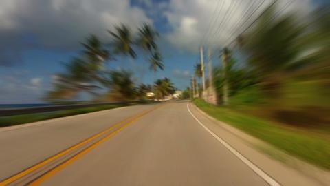 Caribbean Island Road Trip 04 Footage