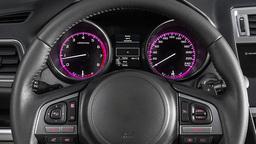 Car Dashboard. Start Of Engine stock footage