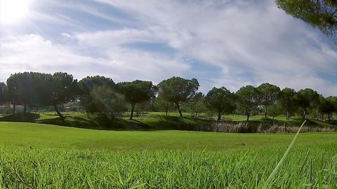 Algarve Golf Pan Timelapse B stock footage