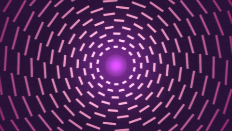 Rotating Lines of Light Animation - Loop Pink Animation