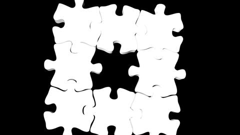 puzzle pieces animation Animation