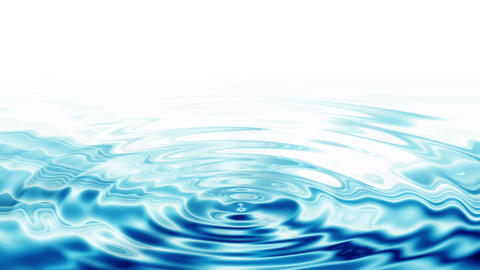 Ripples, Crystal Clear Blue Water Animation