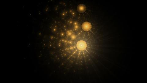 Golden Festive Background Animation