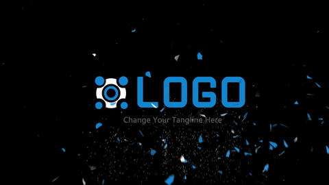 Sparkling Logo After Effects Template
