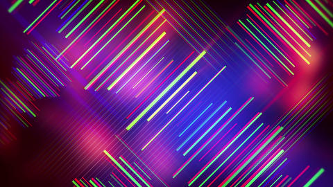 colorful lines abstract background seamless loop 4k (4096x2304) Videos animados