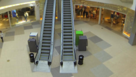 escalator time lapse Live Action