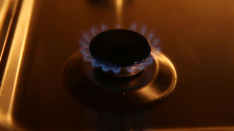 Small gas burner Footage