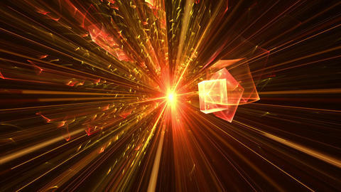 Blast With Rays Of Light, Explosion Animation