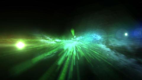 Galaxy Birth Spiral Flight Animation