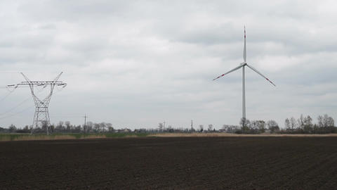 Wind turbines 6 Live Action