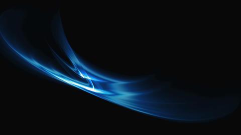 Flowing Energy, Elegant Blue Motion Animation