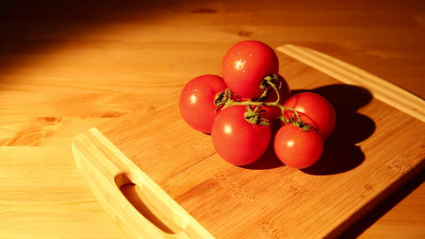 Tomatoes slide view Footage