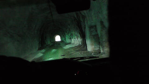 Road Tunnel in Mountains 1 Live Action
