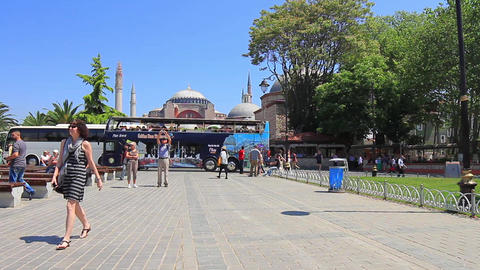 Istanbul City Tour Bus Footage
