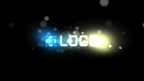 Bokeh Reveal Logo After Effects Template